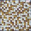 Azulejo de cristal, mosaico de piedra del vidrio cristalino de la mezcla (HGM357)
