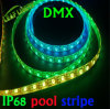 개별적으로 Addressable 24/30/60/LED/M, IP68 Waterproof DMX LED Stripe