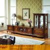 Antiker Wohnzimmer-festes Holz/Wooden/Timber Fernsehapparat-Speicher-Schrank (XS9-055)
