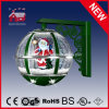 Il Babbo Natale Inside Green Wall Lamp con Eight LED Lights