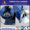 Mini machine d'inscription en métal de laser de la fibre 30W de Dwaya pour l'agent