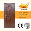 Jamb (SC-S007)の振動Copper Style Steel Security Metal Door
