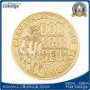 Regalo su ordinazione del ricordo della moneta di oro del metallo