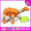 Brinquedo de madeira inteligente para miúdos, brinquedo barato de DIY da inteligência das crianças da venda por atacado, brinquedo de madeira não tóxico W03b030 da inteligência