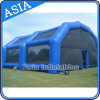 Inflatable gigante Marquee Field Tunnel Tent per Paintball Event