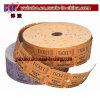 Il prodotto del partito di carnevale della decorazione di carnevale ettichetta il doppio rotolo dei biglietti (BO-1002)