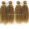 Acessórios longos do cabelo das meninas da extensão do cabelo humano de Remy da onda de Yaki