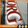 Backlit kaufendes Namens-LED-Metallpolierzeichen