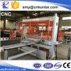 De automatische CNC Pers van het Knipsel van de Reis Hoofd voor Leer, Schuim