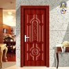 Nouveau Design Red Willow Wooden Steel Door (sx-8-1080)