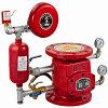 Válvula de alarma para la lucha contra el fuego