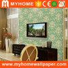 Papel pintado casero del PVC de la sala de estar del fondo de la TV