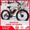 bici eléctrica 750W mecanismo impulsor gordo del neumático 20  26  del MEDIADOS DE sin cepillo