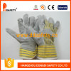 Желтые перчатки безопасности кожаный перчаток коровы (DLC103)