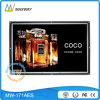Zoll LCD des geöffneten Spant-17.3 Bildschirmanzeige mit Bewegungs-Fühler bekanntmachend