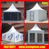 Tente en aluminium de Gazebo de pagoda de PVC de bâti