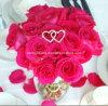 ラインストーンの結婚式の花束の宝石類の花の装飾Pin