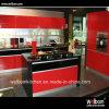 Кухонный шкаф кухни картины самомоднейшей домашней конструкции 2016 красный