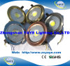 Yaye Best Sell 180mm COB 20W DEL Downlight avec Ce/RoHS/3 Years Warranty