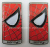 Può Shape Metal Soft Enamel Badge per Spider Man (badge-213)