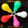 A60 Bombilla LED de plástico con difusor de ángulo de haz completo