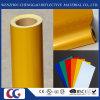 Gelber reflektierender acrylsauerfilm