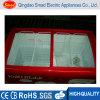 卸し売りスライドガラスドアの箱のフリーザーの冷凍食品の表示フリーザー