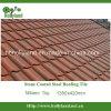 Telha de telhado de pedra colorida do metal com a pedra revestida (tipo de Milão)