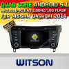 Carro DVD GPS do Android 5.1 de Witson para Nissan Qashqai 2014 com sustentação do Internet DVR da ROM WiFi 3G do chipset 1080P 16g (A5537)