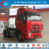Carro terminal del tractor 420HP de la chino remolque de HOWO 4X2