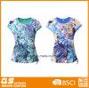 Camiseta al aire libre de secado rápido impresa de las mujeres