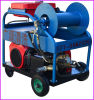 ガソリン機関の高圧洗剤の下水道の下水管管洗浄装置