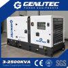Gerador silencioso Soundproof de refrigeração água do diesel da prova 150kw Cummins do tempo