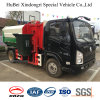 type s'arrêtant camion de baril de l'euro 5 de Shacman de la charge utile 1ton de compacteur d'ordures