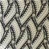 Tessuto 100% di maglia alla moda di modo del poliestere per la progettazione dei vestiti