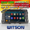 KIA Sorento 2009-2011년 (W2-F9589K)를 위한 Witson 인조 인간 5.1 차 DVD
