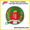 Sottobicchiere rotondo della tazza del cotone promozionale del regalo con il marchio
