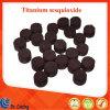 99.99% tablette titanique d'agglomération de Sesquioxide Ti2o3 de granule de grande pureté pour l'enduit optique de vide