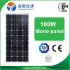 100W sistema casero ligero solar polivinílico del mejor precio de la eficacia alta del panel solar 90W 80W mono