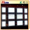 Doppeltes versah magnetische helle Taschen der Decken-hängende Fenster-Bildschirmanzeige-LED mit Seiten