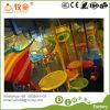 Scalata felice dei giocattoli del castello/gioco di /Kids del campo da giuoco dell'interno netto dell'albero del Rainbow