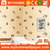 Papel pintado impermeable del dormitorio del PVC para los cabritos
