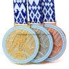 Medaglia su ordinazione del premio di sport del hokey di ghiaccio dell'argento e del rame dell'oro