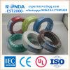 Fio elétrico flexível isolado PVC do núcleo de cobre