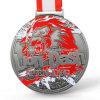 Medaglia Colourful del premio di sport del precipitare del leone del metallo su ordinazione