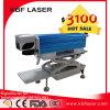 Macchina portatile economica della marcatura del laser della fibra della Cina per la lampadina del LED