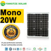 Prix de panneau solaire du jour 12V 20W de la CEE