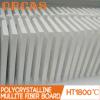 Panel de fibras policristalino de la mullita del alúmina de la resistencia térmica 1800