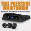 External sem fio TPMS do sistema de vigilância da pressão de pneu da potência solar do LCD
