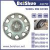 ABS universal de plata 13  14  15  16  cubiertas del borde de la rueda